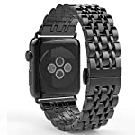 Compatibility: replacement strap wrist band is for Apple Watch Series 1 & 2 - 42mm Watch Only With Metal Band Adjuster. Product description: this Taslar stainless steel band is specially designed for Apple Watch Series 1 & 2 - 42mm. Metal Ban...