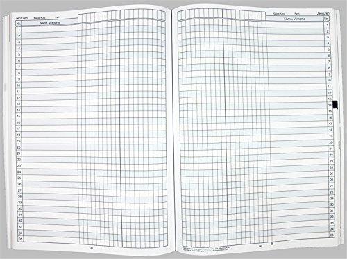 Flöttmann A4 Planer Kreativ - Kalender für Lehrerinnen und Lehrer 2018 - 2019 - Lehrerkalender creativ - Schulplaner - 9