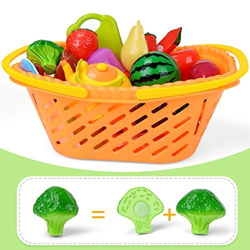 NextX Taglio Frutta e Finti Alimenti - Giocattolo Educativo d ...