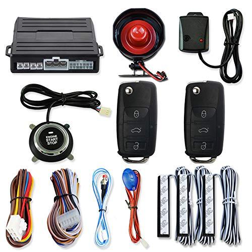 YHL Fernstarter Für Autos Druckknopf-Starter-Kit Mit Intelligentem Einknopf-Fernstart-Zündsystem Für 12-V-Modelle (Auto-remote-starter-kit)