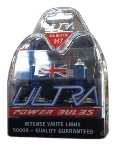 Ultra H7 12v 55w 5000K Xenon Power Bulbs