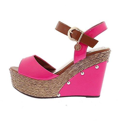Balamasa, Sandales Pour Femmes Pink Red