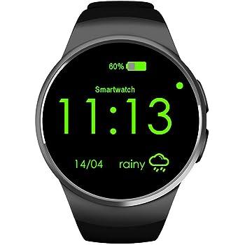Buibao Bluetooth Smart Watch Phone KING-WEAR KW18 Sim&TF Card Heart Rate Smartwatch