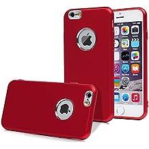 custodia iphone 6 silicone rosso