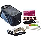 BTR Bike Bag & Tool Kit - Bike Frame Bag & Mobile Phone Holder With Bicycle Multi Function Tool & Puncture Kit