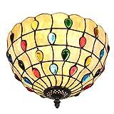 12-Inch Europäisches Minimalismus Stil Perlen-Serie Erröten-Einfassung Deckenleuchte Flur Licht