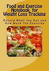 Food and Exercise Notebook for Weight Loss Tracking: Record What You Eat and How Much You Exercise
