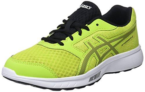 Asics Stormer 2 Gs, Zapatillas de Running Unisex Niños, Verde (Neon Lime/Black 300), 37 EU