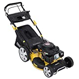 "Powerplus 20"" (508mm) Self-Propelled, 4 in 1 Cut, Cut & Collect, Mulch, Side Discharge, 196cc Petrol Lawn Mower POWXG60225 - 3 Year Home User Warranty"