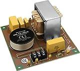MONACOR DN-1218PAX 2-Wege-Frequenzweiche 8 ohm, Höchstleistungsausführung für PA, Optimale Filterwirkung für 30er-und 38er-PA-Bässe, 600W