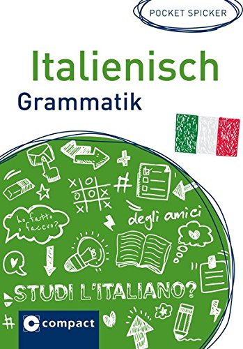 Italienisch Grammatik (Pocket Spicker)