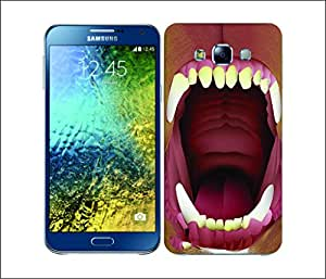 Galaxy Printed 2669 Razor Tooth Bull Hard Cover for Samsung CORE 2