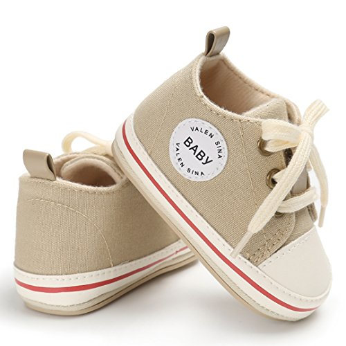 Bébé Fille Garçon Chaussures Premier Pas Antidérapants Bandage Brodequin Mignon Jaune