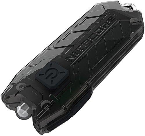 Nitecore Tube schwarz - Schlüsselanhängerleuchte, 45 Lumen, über USB aufladbar
