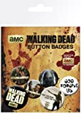GB Eye Limited The Walking Dead Badge Pack