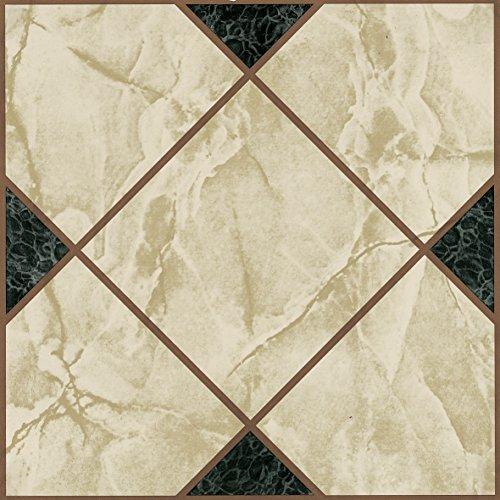 60x mattonelle di pavimento in vinile-Adesivo-Cucina/Bagno Adesivi-Nuovo-Vittoriano marmo 193