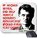 Ludwig Wittgenstein - Mouse Mat/Pad Amazing Design