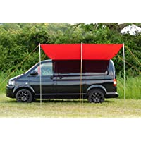 DEBUS Campervan Sun Canopy Awning - Chianti Red 9