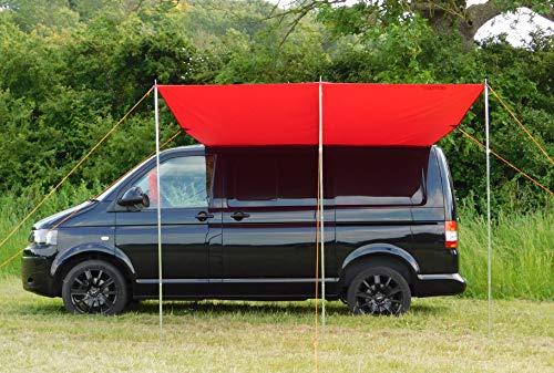 Preisvergleich Produktbild DEBUS T4 / T5 / T6 Wasserdich Vordach / Markise / Sonnensegel - Chianti Rot