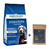 #7: Arden Grange Puppy Large Breed Dog Food - Junior Puppy Large Breed Food - Fresh Chicken & Rice - 2 kg (Large Breeds) with HUFT Chicken Liver & Turmeric Treats