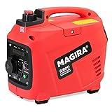 MAGIRA Inverter Stromerzeuger   11 Varianten: 800W - 7000W   12V 230V Schallgedämpfter Benzinbetriebener Stromgenerator   Notstromaggregat, Inverter Generator für sensible Geräte (800W)