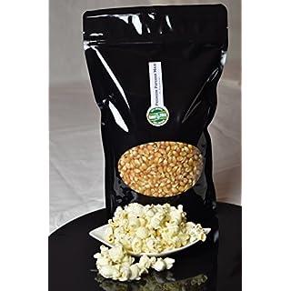 Premium Butterfly Popcorn Mais 500g/1000g XL 1:46 Popvolumen mit Aromaschutzverpackung GMO Frei