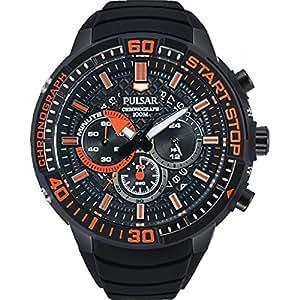 Pulsar Watch With X Pt3555x1 P11978 Display Chronograph Mens Date pjLVUGqSzM