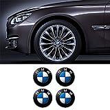 Myhonour 4 x 56.5 mm Durchmesser BMW Rad Mitte Kappen Aufkleber Self Adhesive Emblem Decals Billig (1)