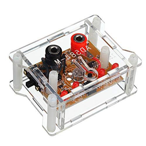 ROUHO Ad584 4 Channel 2.5V/7.5V/5V/10V High Precision Voltage Reference Module Mit Transparentem Gehäuse