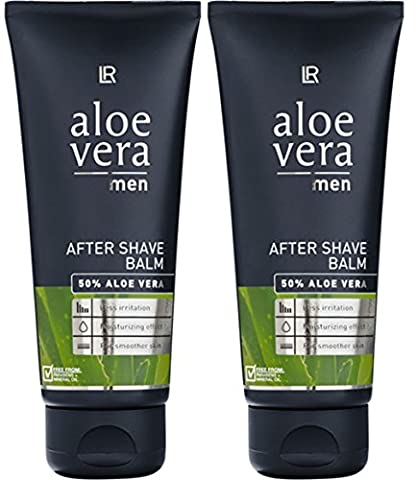LR Aloe Vera Men After Shave Balsam Nach Der Rasur (2x 100 ml)