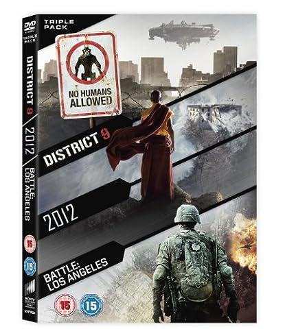 2012 / Battle: Los Angeles / District 9 - Set [Import anglais]