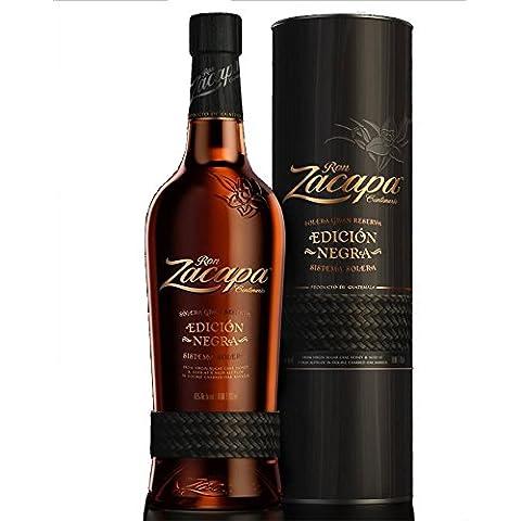Rum Zacapa Edición Negra Solera Gran Reserva 43 % 70 cl. - Ron Zacapa Centenario - Ron de Guatemala