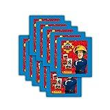 Panini Sticker - Feuerwehrmann Sam Sammelbilder - 10 Booster Packungen 50 Sticker