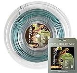 Double Ar–Cuerda de tenis Twice Viper, monofilamento co-poliestere 1.20mm, bicolor gris/verde. matassa200mt