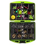 Assorted-Fishing-Tackles-SwivelsJig-hooksLead-Weight-Beads-Hooks-Bells-Snaps-Jigs-Connectors-A45