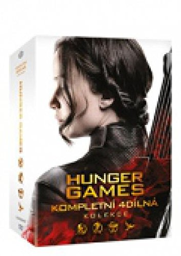 Hunger Games kolekce 1-4 4DVD (The Hunger Games Collection) (Tchèque version)
