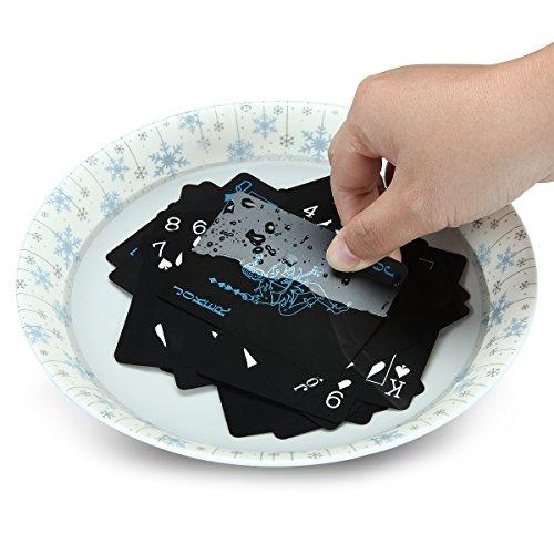 Schwarze Pokerkarten - 5