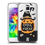 Head Case Designs Jack O' Lantern Halloween Figuren Ruckseite Hülle für Samsung Galaxy S5 Mini