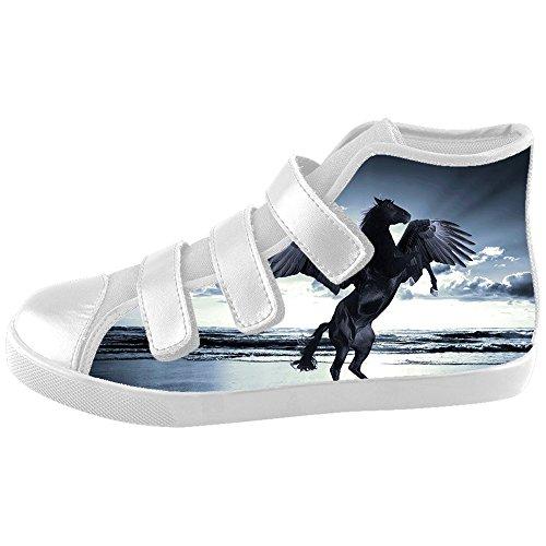 Dalliy W¨¹tend Pferd Tier Kids Canvas shoes Schuhe Footwear Sneakers shoes Schuhe (Kids Shorts Mlb)