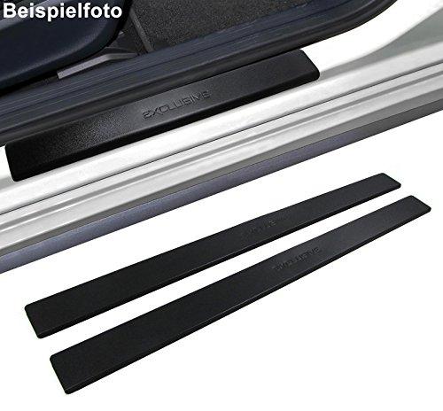 Preisvergleich Produktbild Carparts-Online 28425 Einstiegsleisten Schutz schwarz Exclusive