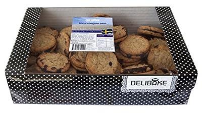Delibake Schoko Hafer Kekse, 3er Pack (3 x 600 g)