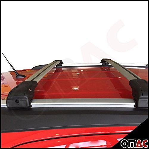 Audi Q5 / Q3 Alu Dachträger Gepäckträger Grau Wing Carrier Schlüssel V2