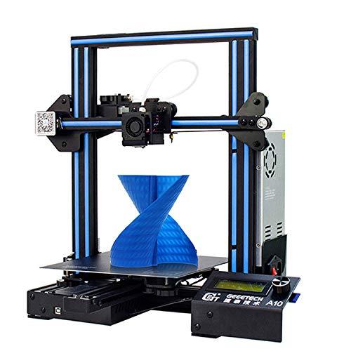 GEEETECH A10 imprimante 3D Assemblage rapide Aluminium Prusa I3 kit avec Une Taille d'impression de...