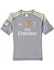 adidas - Camiseta de niños 2ª equipación Real Madrid CF 2015-2016 Adidas