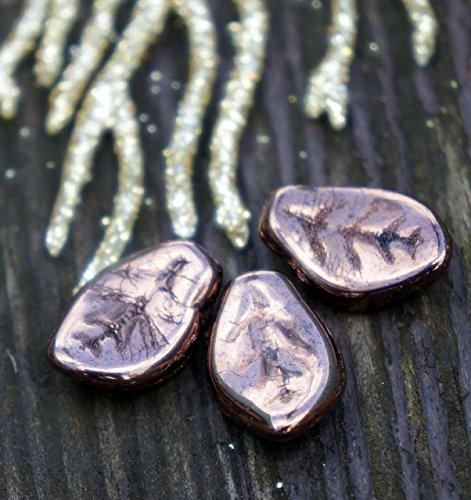 opaco-metallizzato-bronzo-vetro-foglia-di-perle-ceca-foglia-di-perle-bronzo-foglia-doro-cordone-doro