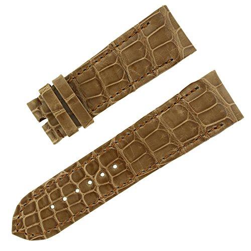 chopard-23-20-brillant-moka-relief-alligator-veritable-bande-de-montre-pour-hommes