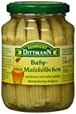 Produkt-Bild: Feinkost Dittmann Baby-Maiskölbchen verfeinert mit mild-süßem Bienenhonig-Aufguss, 3er Pack (3 x 340 g)
