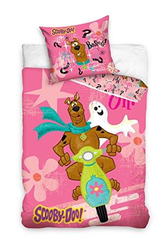 twäsche Kinder Bettwäsche SD8016 Scooby-Doo 140x200 cm + 70x80 cm (Baby-scooby Doo)