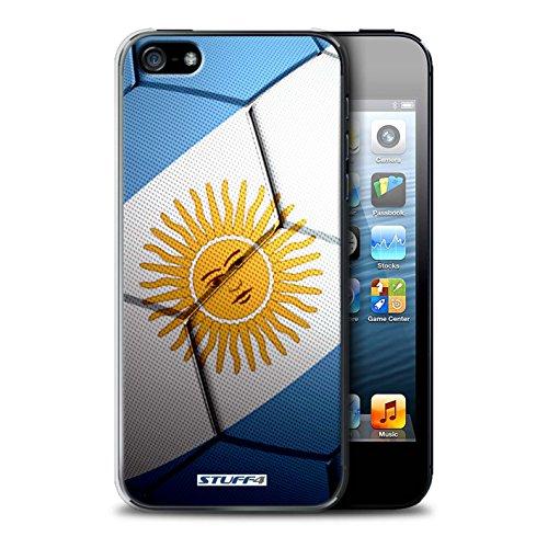 Coque de Stuff4 / Coque pour Apple iPhone 5/5S / Portugal Design / Nations de Football Collection Argentine