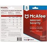 McAfee Internet Security 2019 | 5 Geräte | 1 Jahr | PC/Mac/Smartphone/Tablet | Download